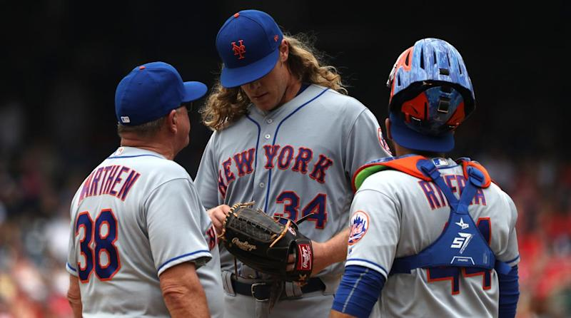 Mets place Syndergaard on 10-day DL with partial tear of lat