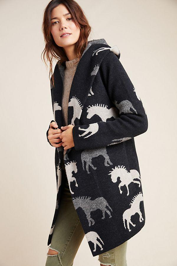 Sedona Wool Sweater Coat