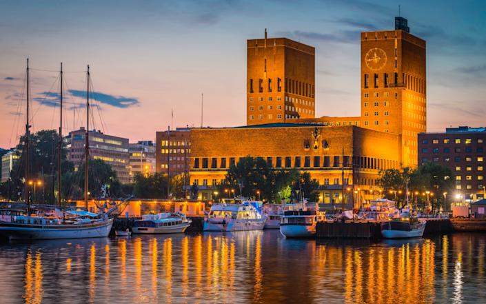 Oslo has seen one of the biggest falls in the cost for a city break