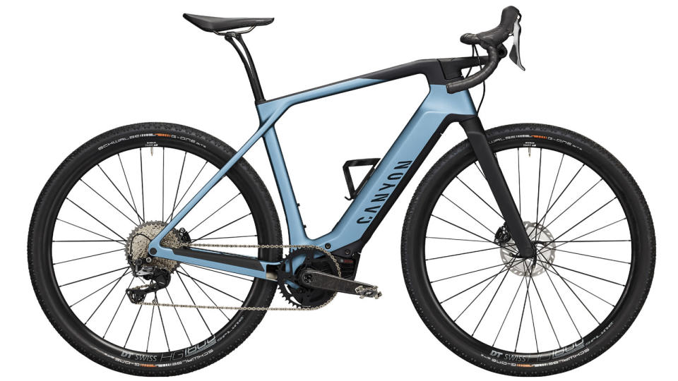 Best electric gravel bike: Canyon Grail ON CF 8 eTap