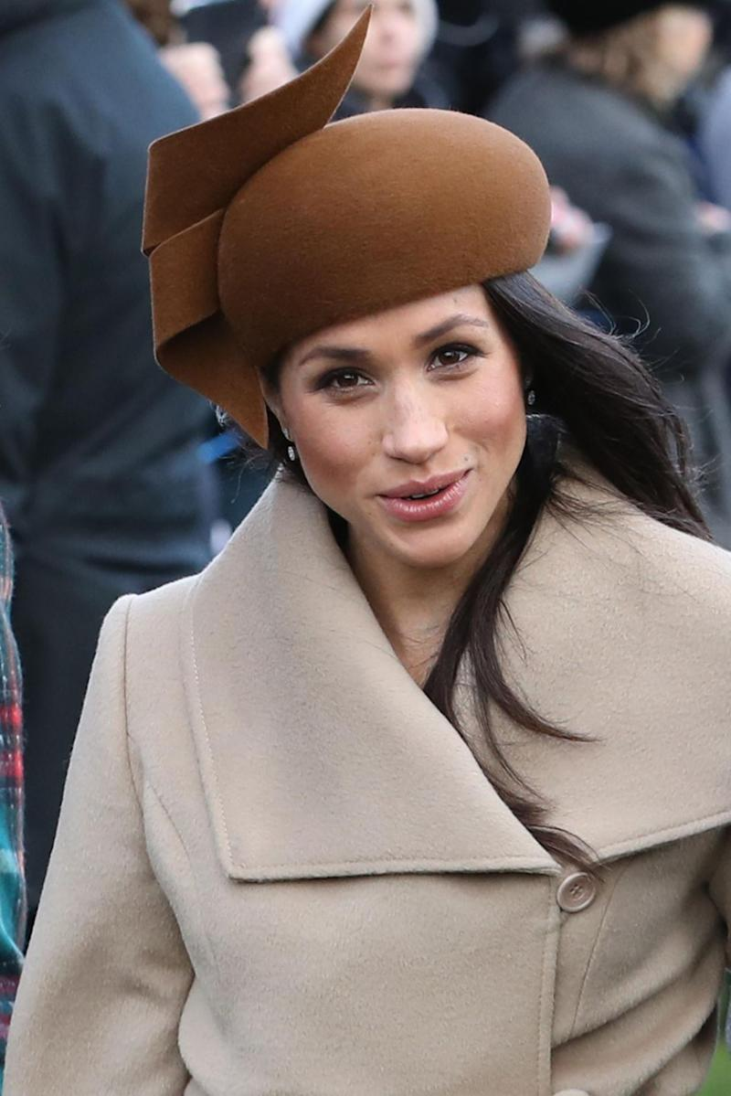 Meghan spent her first Christmas with the royal family this year before marrying Prince Harry. Photo: Getty Images