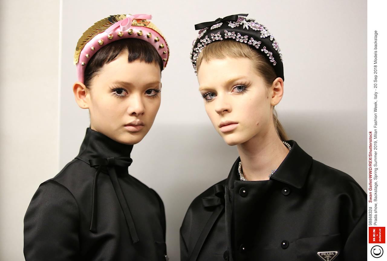 <p>Whether it's two-tone pink and red lipstick, a healthy glow so extreme you're basically applying moon dust to your skin, or black lashes and plastic bug eyes a la Gareth Pugh, these are the hottest make-up looks sashaying down the runways at fashion week SS19.</p><p>From Burberry and Christopher Kane, to Valentino and Jeremy Scott, we've got every major make-up look and trend to inspire you for Spring 2019.</p>