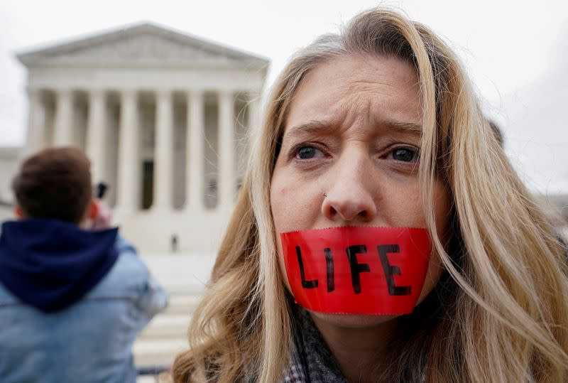 Abortion rights face stern new test at conservative U.S. Supreme Court