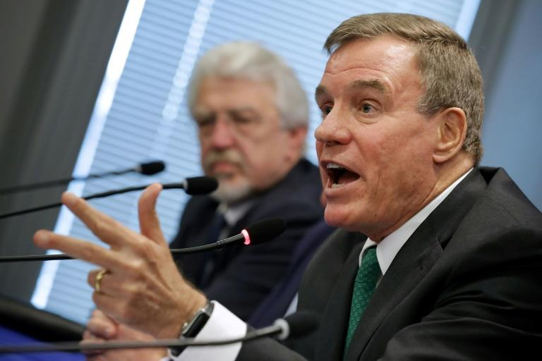 Sen. Mark Warner said Chinese tech firms Huawei and ZTE pose national security threats and should not have access to US markets