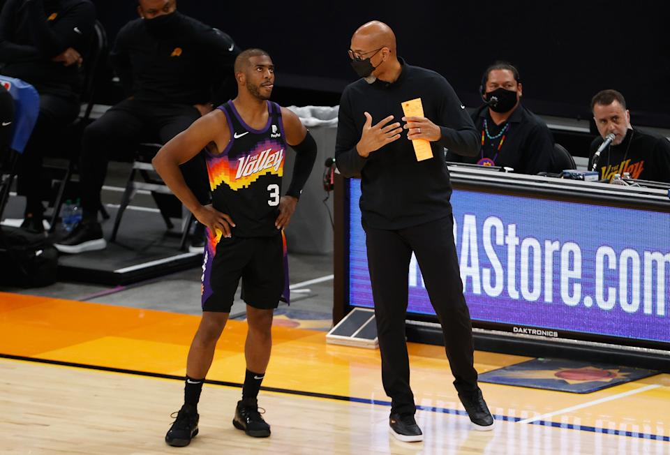 Chris Paul and Monty Williams are the architects of a Suns renaissance. (Christian Petersen/Getty Images)