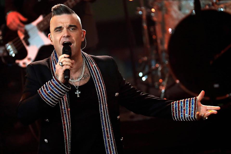 Robbie Williams said he had been living in fear and unable to reach his dad (Getty Images)