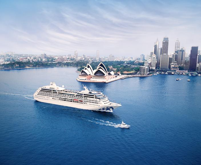 No. 3:Around the World Cruise.Guests aboard the 2020 Around the World Cruise with Princess Cruises get to explore five continents, 26 countries and 42 destinations on a 34,287-nautical mile journey aboard the Pacific Princess. Travelers can opt for the full 111-day experience, or come on for shorter segments.