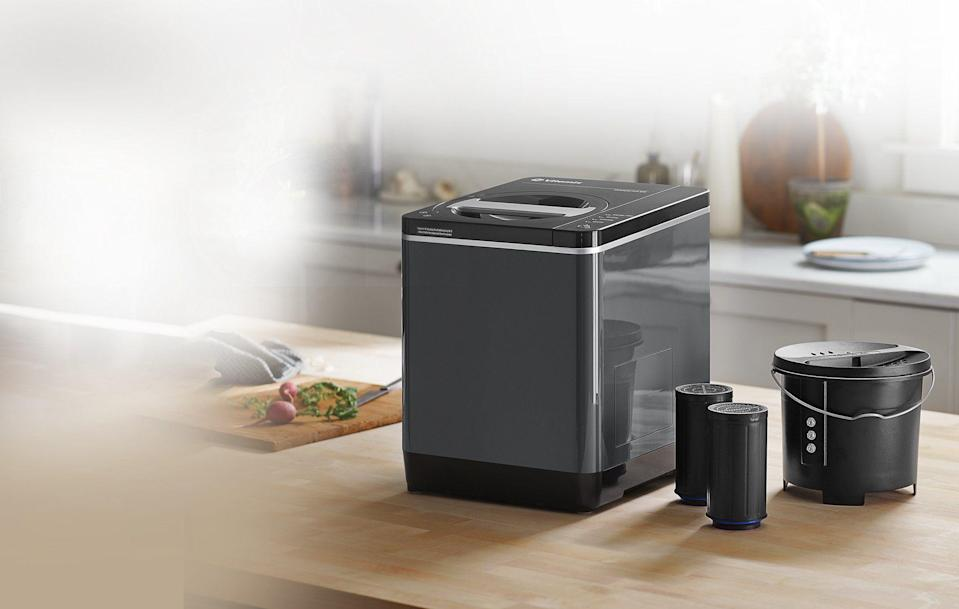 """<p><strong>Vitamix</strong></p><p>vitamix.com</p><p><strong>$399.95</strong></p><p><a href=""""https://go.redirectingat.com?id=74968X1596630&url=https%3A%2F%2Fwww.vitamix.com%2Fus%2Fen_us%2Fshop%2Ffoodcycler-fc-50&sref=https%3A%2F%2Fwww.housebeautiful.com%2Fshopping%2Fg34571189%2Fbest-kitchen-appliances%2F"""" rel=""""nofollow noopener"""" target=""""_blank"""" data-ylk=""""slk:Shop Now"""" class=""""link rapid-noclick-resp"""">Shop Now</a></p><p>You already know Vitamix for their amazing blenders, but did you know they partnered with FoodCycler to make sure those scraps from all your heavy duty blending and soup-making go to good use? The FoodCyler takes all your excess food scraps—cucumber peels, chicken bones, orange rinds, etc.—and turns them into fertilizer for your indoor plants and outdoor gardens. Composting with no smell and a seriously <em>good</em> environmental impact. </p>"""