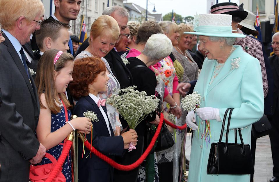The Queen in Northern Ireland (PA Archive)