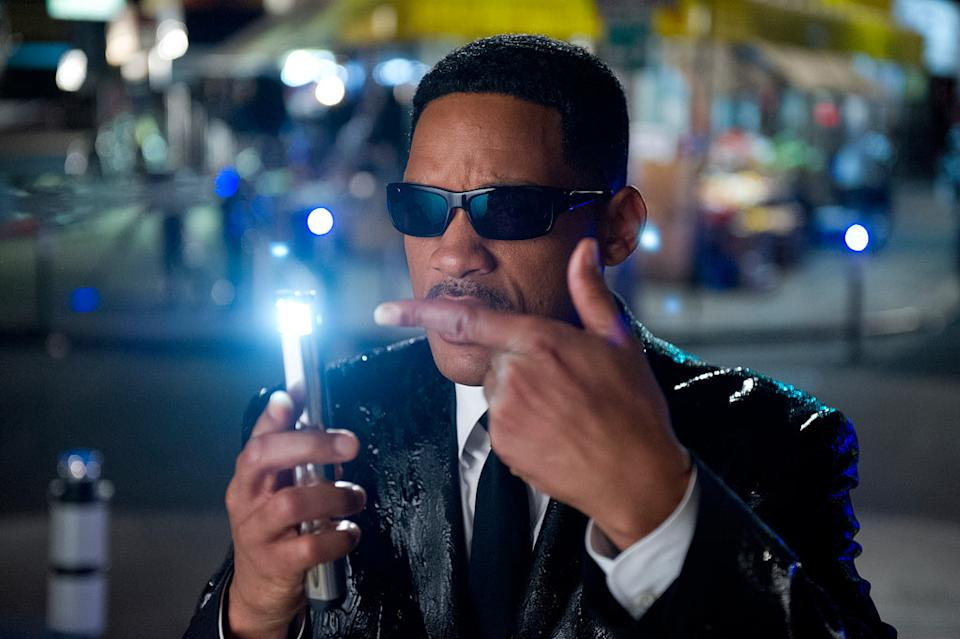 """Will Smith in Columbia Pictures' """"Men in Black 3"""" - 2012"""