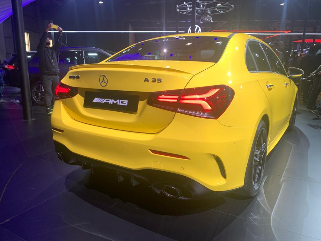 Quite clearly, the design factor is the USP of the A-Class. The long and low nose, the curvy headlamps, the sloping rear and those stunning tail-lamps are all very much part of the car's 'wow' factor.