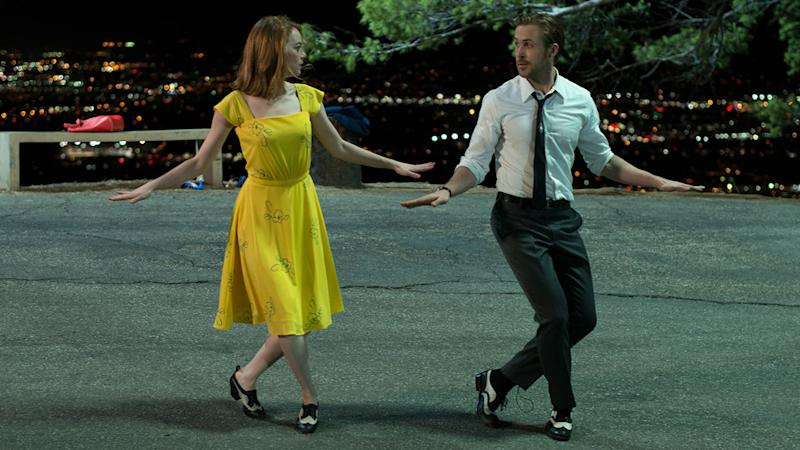 Emma Stone and Ryan Gosling bringing the razzmatazz to 'La La Land' (Credit: Lionsgate)