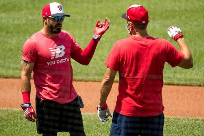 Defending champion Nats return healthy, careful on protocols