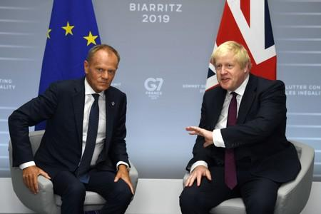 UK PM Johnson says £39 billion divorce bill not due in no-deal Brexit