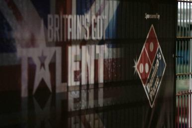 Britain's Got Talent poster outside the studios