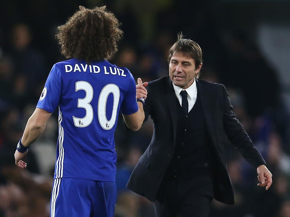 There were a lot of eyebrows raised when Conte brought Luiz back to Chelsea: Getty