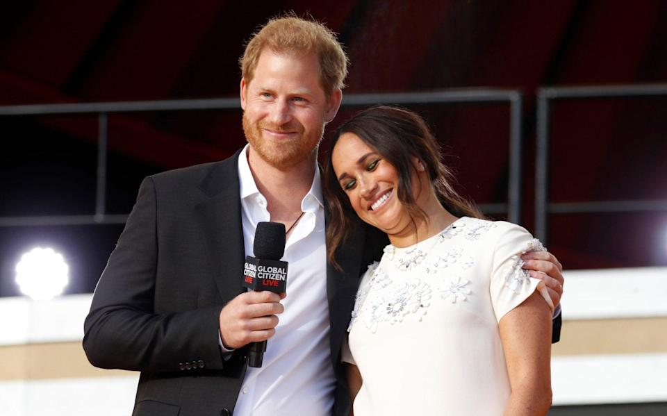 Prince Harry, Duke of Sussex and Meghan, Duchess of Sussex - John Lamparski/Getty Images