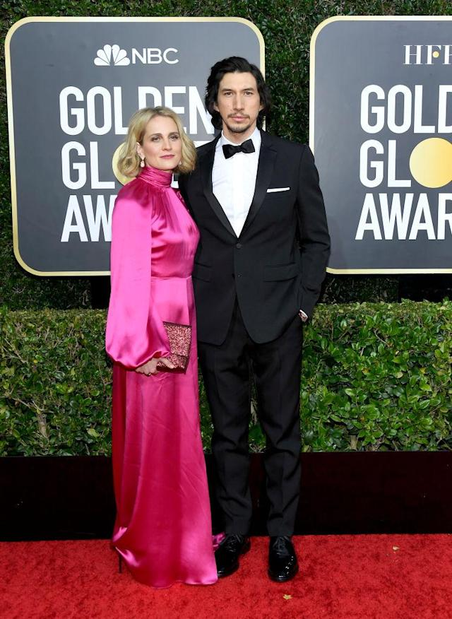 Joanne Tucker and Adam Driver. Foto: Getty Images