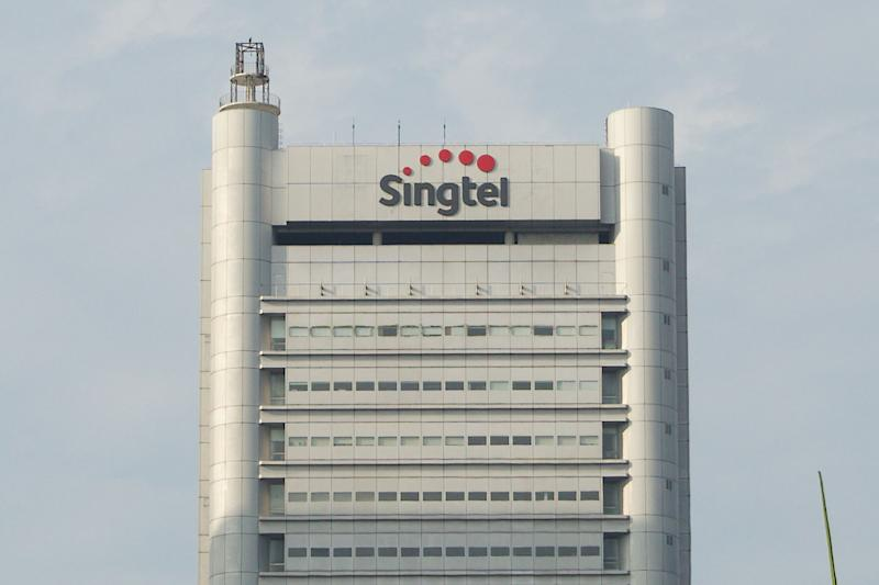 The Singtel Comcentre 1 building in Somerset. (PHOTO: Dhany Osman / Yahoo News Singapore)