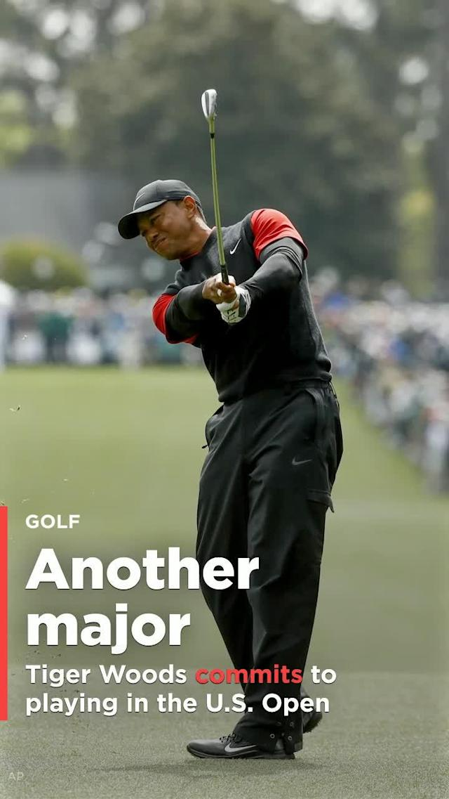 Big news out of the Tiger Woods Comeback Trail Campaign, as Woods has committed to play in the 2018 U.S. Open at Shinnecock Hills, N.Y.