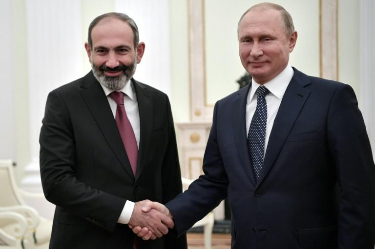 Pashinyan meets Vladimir Putin in Moscow on Wednesday