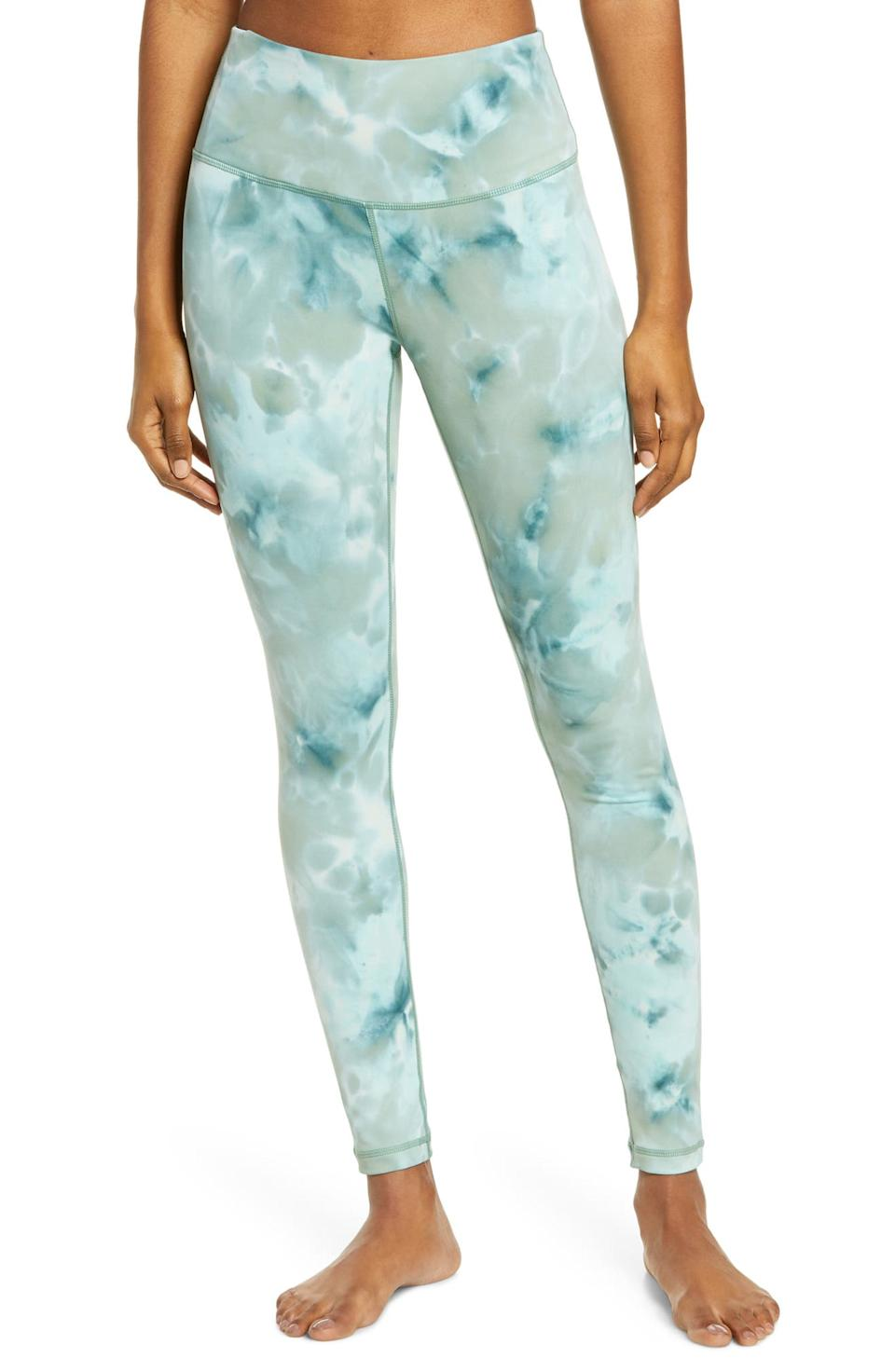 Spray Dye High Waist Leggings. Image via Nordstrom.
