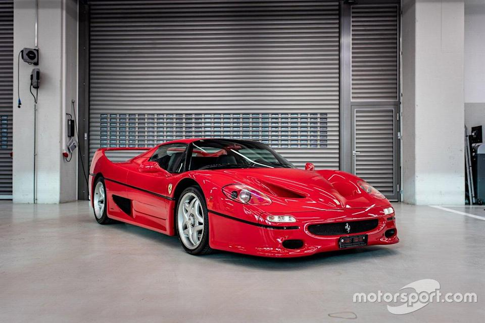 "1996 Ferrari F50 de Sebastian Vettel<span class=""copyright"">Tom Hartley Jnr.</span>"