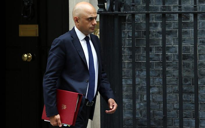 Sajid Javid is understood to be seeking clinical advice on whether the change can be made - Tayfun Salci/Anadolu Agency via Getty Images