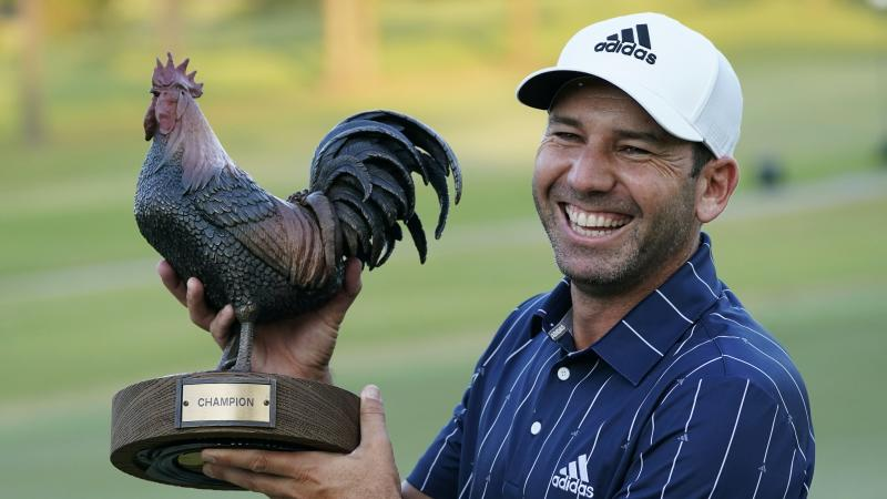 Sergio Garcia holds his nerve to sink tournament winning putt in Mississippi