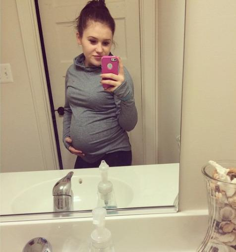 Remarkable, Pregnant teen selfie well