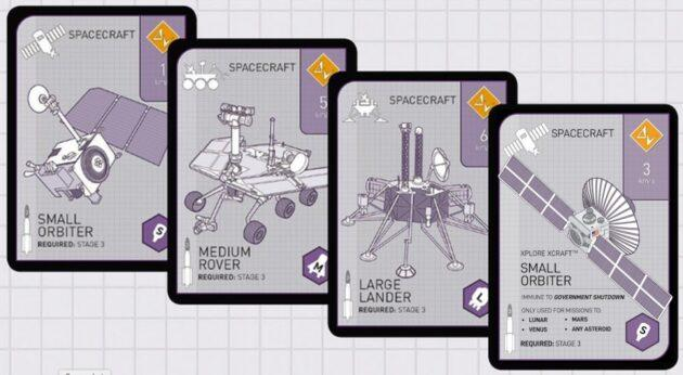 Xtronaut 2.0 cards