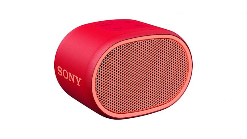 Sony SRS-XB01 Portable BLUETOOTH Speaker packs an audible punch. Photo: Sony