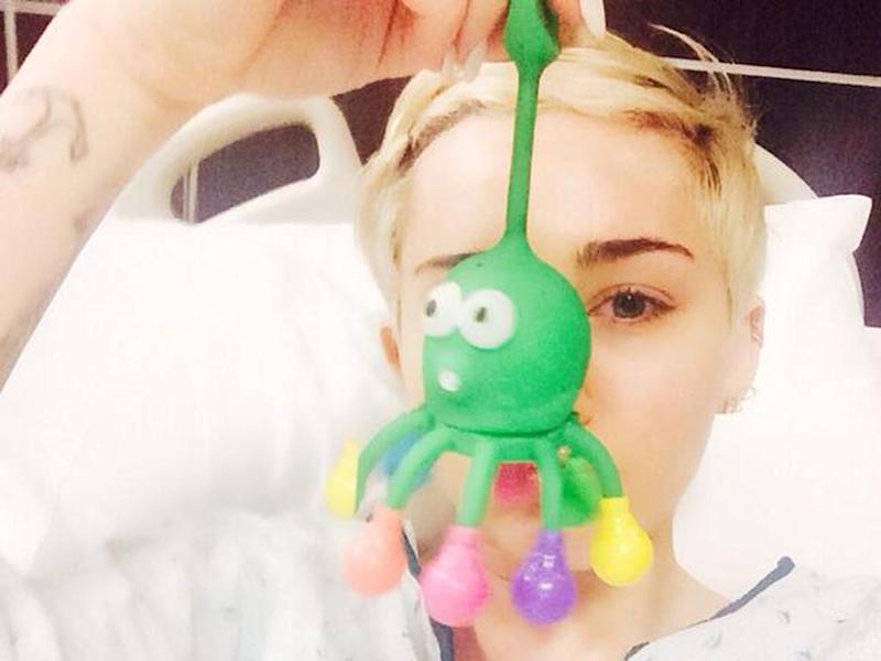 Miley Cyrus: ricoverata in ospedale