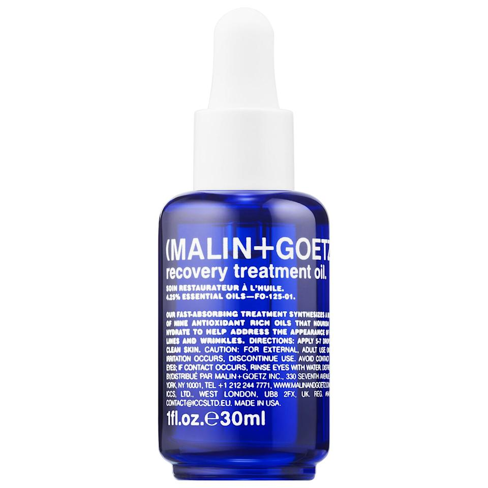 Malin+Goetz Recovery Treatment Oil. Image via Sephora