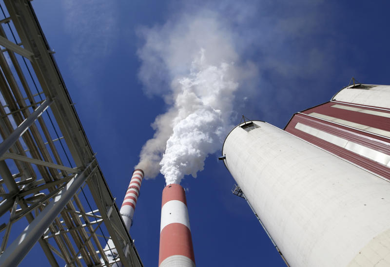 3 2018 smoke rises from the chimneys of Serbia's main coal-fired power station near Kostolac Serbia. The Kostolac power plant complex in eastern Serbia is currently being expanded with a $715 million loan from