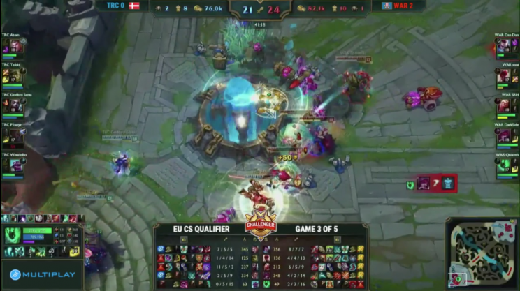Wind and Rain's final win over Tricked Esports (UK Masters)