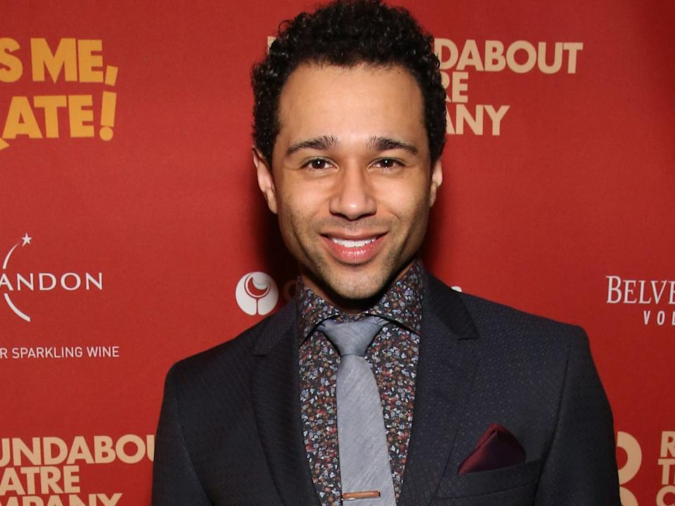 """Corbin Bleu starred in a DCOM of his own titled """"Jump In!"""""""