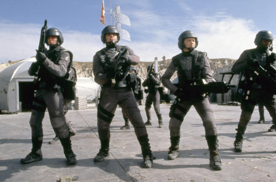 'Starship Troopers'. (Photo by TriStar Pictures/Sunset Boulevard/Corbis via Getty Images)