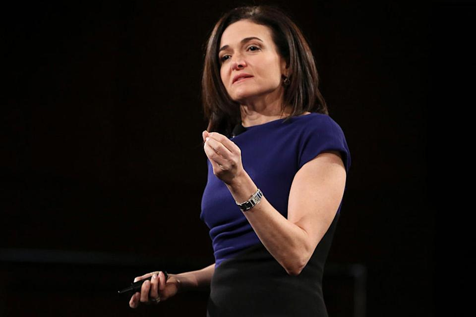 Facebook's chief operating officer Sheryl Sandberg (Getty Images )