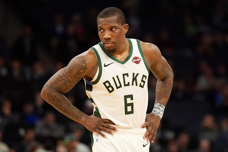 Eric Bledsoe's big game against the Clippers included a pair of highlight-worthy bloopers. (Hannah Foslien/Getty)
