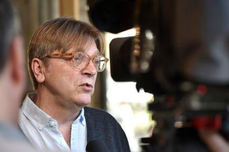 FILE PHOTO - ALDE President and Former Belgium PM Verhofstadt takes part in the kick-off campaign of La Republique En Marche Benelux, in Brussels