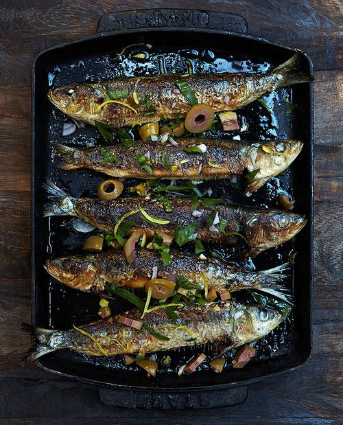 Marcus Samuelssons Recipe For Sardines With Herbs