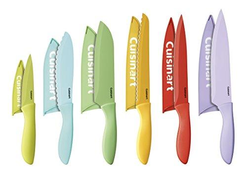 Cuisinart C55-12PCER1 Advantage Color Collection 12-Piece Knife Set with Blade Guards, Multicolored (Amazon / Amazon)