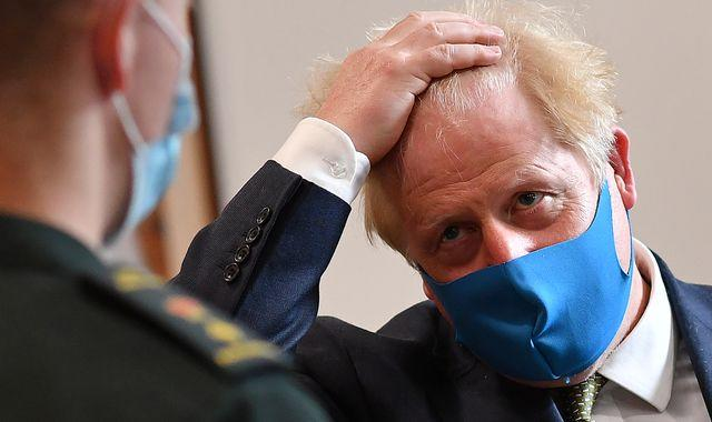 Boris Johnson makes U-turn and abandons face masks advice for secondary schools