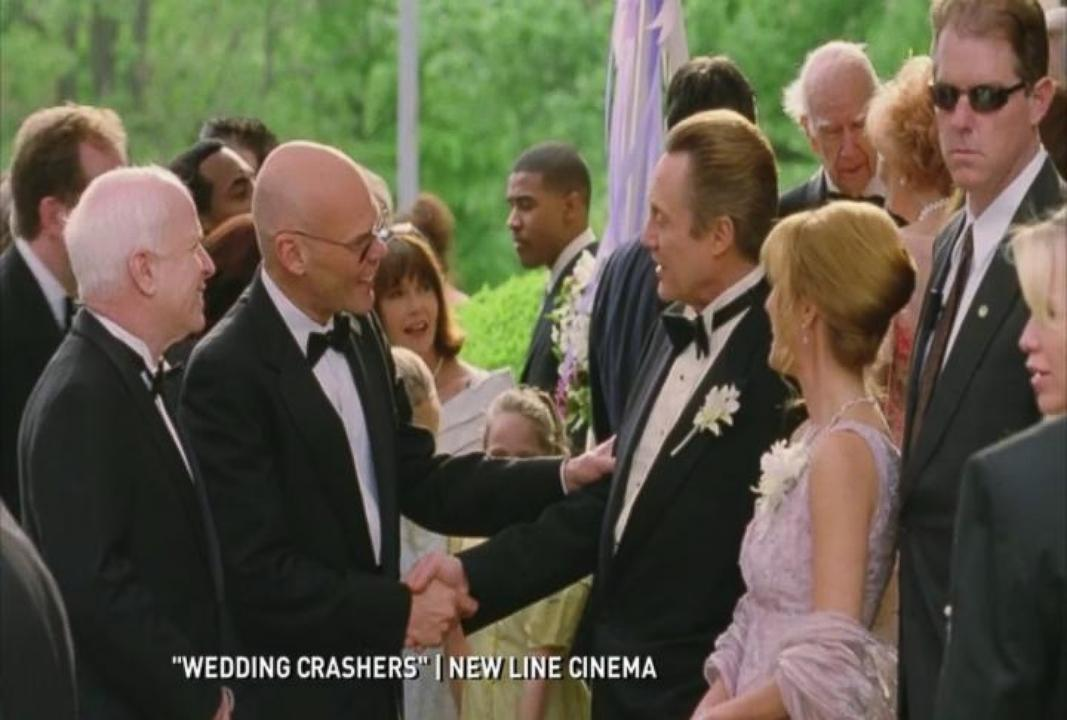 Wedding Crashers 2.Sen John Mccain Was An Invited Guest In Wedding Crashers