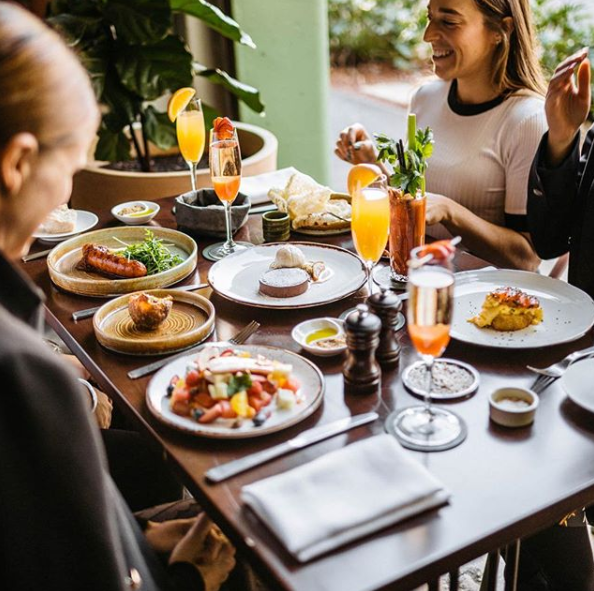 """<p><a rel=""""nofollow"""" href=""""https://www.lukemangan.com/restaurants/lukes-kitchen/""""><strong>Luke's Kitchen,</strong></a> is the perfect weekend treat. Offering an impressive food menu w/ bottomless beverage packages, it's the perfect place to have a girls catch up or family reunion. Between the warm customer service and chic décor guests will never want to walk out the doors. We highly recommend the crumpets with eggs, kale, haloumi and eggplant chutney… seriously amazing!<br /><b>Wed & Thurs: </b>4pm-9.30pm (bar closes 10pm)<br /><b>Fri:</b> 4pm-9.30pm (bar closes 10.30pm)<br /><b>Sat:</b> 10am-9.30pm (bar closes 10.30pm)<br /><b>Sun:</b> 10am-4pm (last order 3pm)<br />Source: Instagram @lukeskitchensyd </p>"""