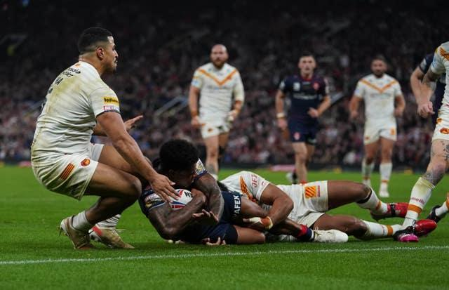 Kevin Naiqama scored a try in each half