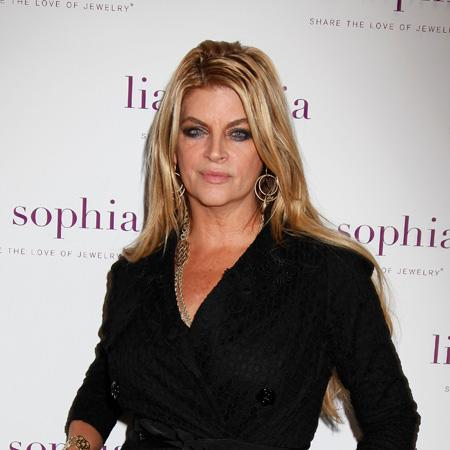 Kirstie Alley 'bad' with love