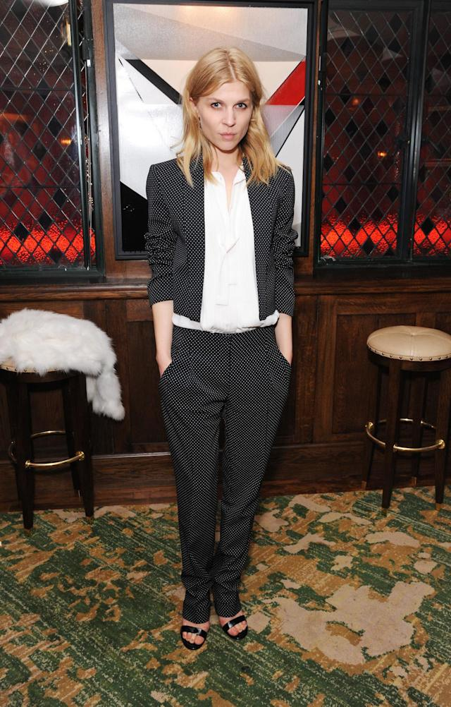 <p>Actress and model Clémence Poésy knows just how to make understated enviable. (Photo: Getty Images) </p>