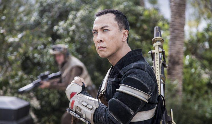 Chirrut kicked ass, but not as a Jedi - Credit: Lucasfilm